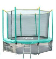 Батут Optifit like green 14ft (4,27 м)